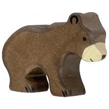 Holztiger kleine bruine beer (80185)