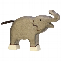 Holztiger olifant (80150)