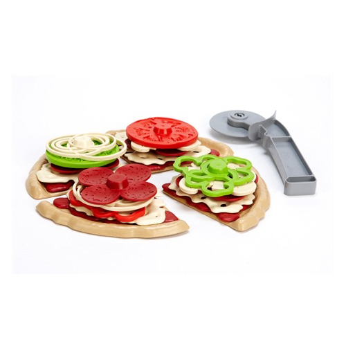 Green Toys pizza set