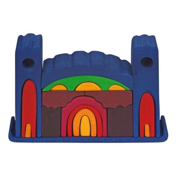 Gluckskafer kasteel (blauw) (523268)