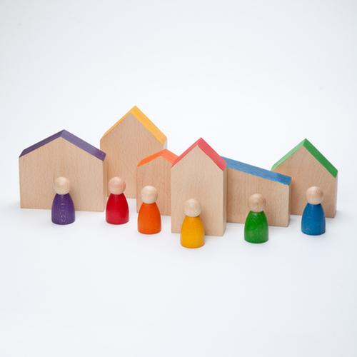 Grapat huisjes en poppetjes (15-110)