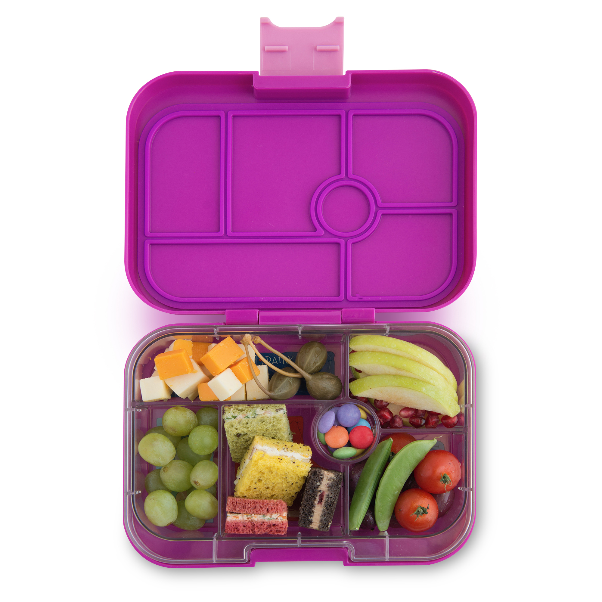 Yumbox original - bijoux purple (6-vaks)
