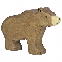 Holztiger bruine beer (groot) (80183)