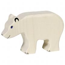 Holztiger ijsbeer (groot) (80207)