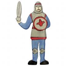Holztiger blauwe gevechtsridder (80253)