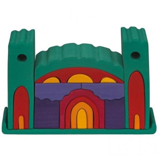 Gluckskafer kasteel (groen) (523269)