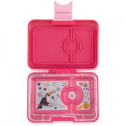 Yumbox mini-snack - lotus roze (3-vaks)