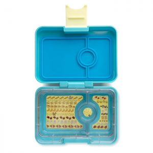 Yumbox mini-snack - cannes blue (3-vaks)
