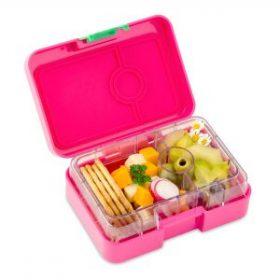 Yumbox mini-snack - cherie pink (3-vaks)