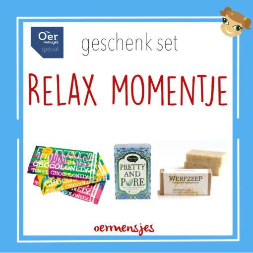 geschenk set relax momentje