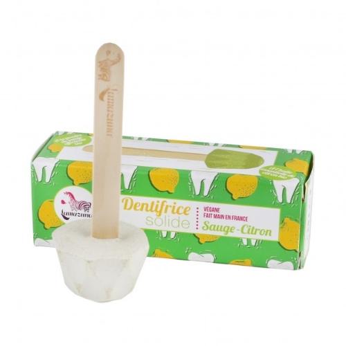 Lamazuna tandpasta op een stokje (citroen)