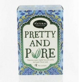 natural temptation tea pretty and pure