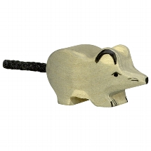 Holztiger muis (grijs) (80087)