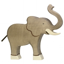 Holztiger olifant (80148)