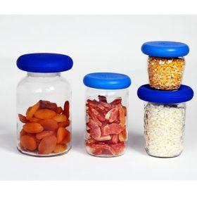 Foodhuggers - set van 4 (groot formaat)