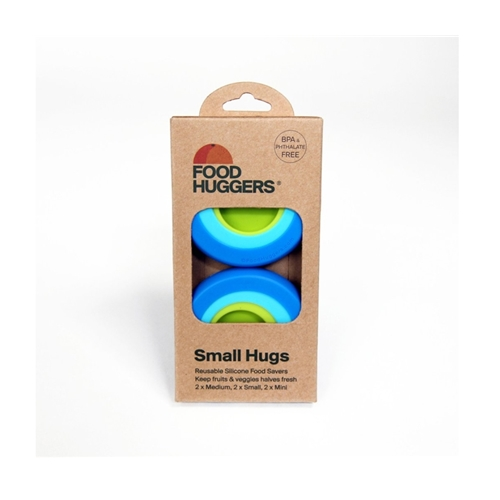Foodhuggers - set van 6 (klein formaat)
