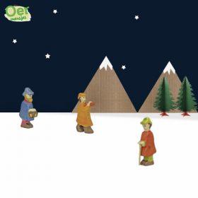 holztiger houten figuren herders