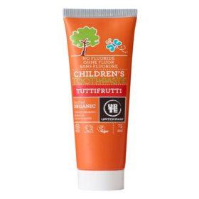 Urtekram fluoridevrije tandpasta voor kinderen
