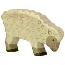 Holztiger schaap (grazend) (80072)