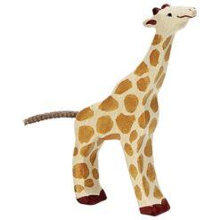 Holztiger giraffe (klein) (80157)