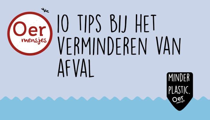 tien tips bij het verminderen van afval