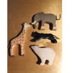 Holztiger voordeelset dierentuindieren - voorbeeld