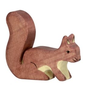 Holztiger eekhoorn (bruin) (80108)