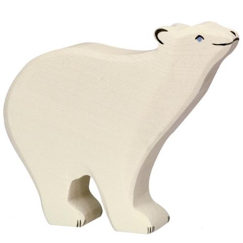 Holztiger ijsbeer (groot) (80206)