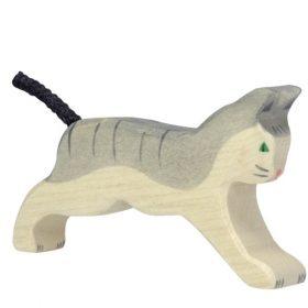 Holztiger kat (rennend) (80054)