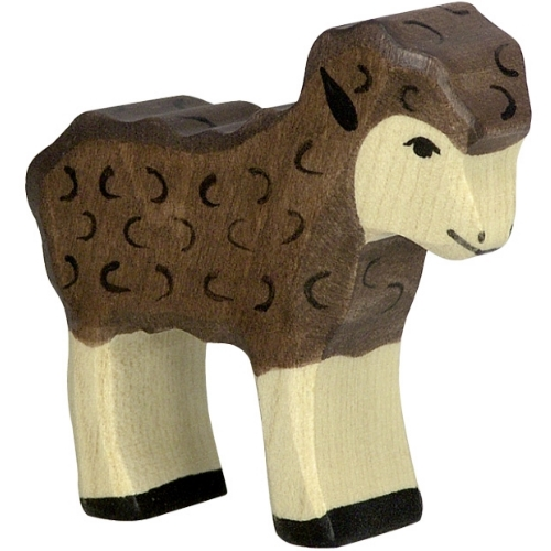 Holztiger lam (bruin) (80078)