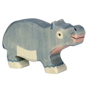 Holztiger nijlpaard (klein) (80162)