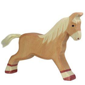 Holztiger paard (rennend) (80032)