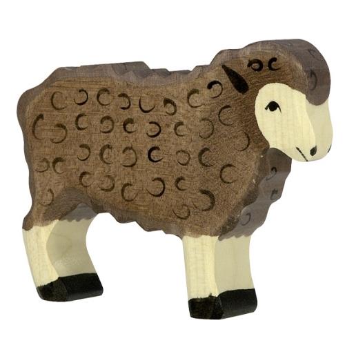 Holztiger schaap (bruin) (80075)
