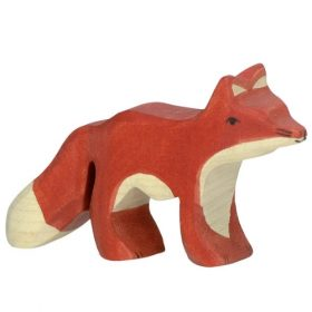 Holztiger vos (klein) (80096)