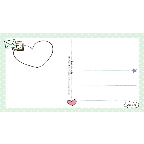 Ansichtkaart Baby - Unieke Postkaarten/ Wendy de Boer