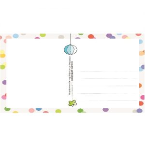 Ansichtkaart gefeliciteerd - Unieke Postkaarten/ Wendy de boer