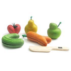 Kromkommer fruit- en groenteset