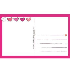 Ansichtkaart Love - Unieke Postkaarten/ Wendy de Boer