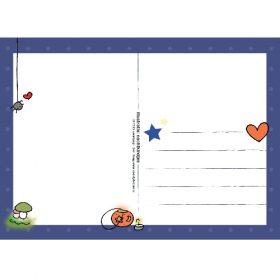 Ansichtkaart Nachtkindjes - Wendy de Boer/ Unieke Postkaarten