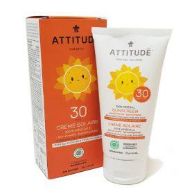 Attitude - zonnebrandcreme vanille bloesem