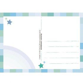 Ansichtkaart Zwemdiploma - Unieke Postkaarten/ Wendy de Boer