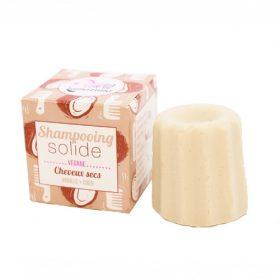 Lamazuna blok shampoo (droog haar) (vanille/kokos)