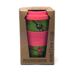 Ecoffee bamboe koffiebeker (widdlebirdy)