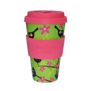 Ecoffee koffiebeker (widdlebirdy)