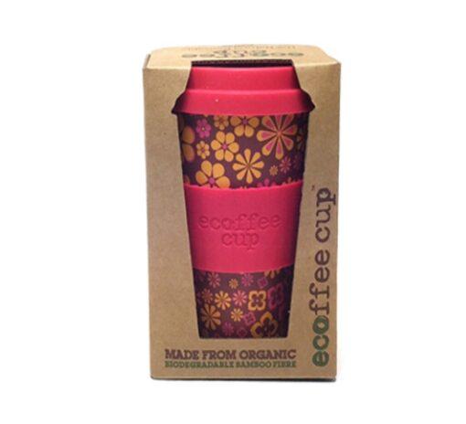 Ecoffee bamboe koffiebeker (yeah baby)