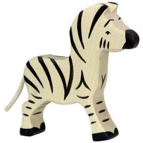 Holztiger zebra (klein) (80153)