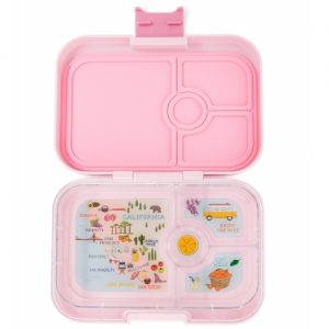 Yumbox panino - hollywood pink (4-vaks)