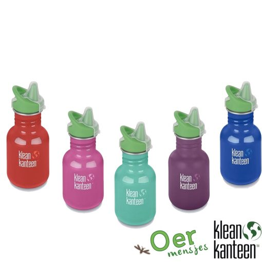 klean kanteen drinkfles 350ml sippy cap kid