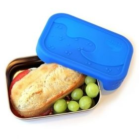 eco splash box - blue water bento