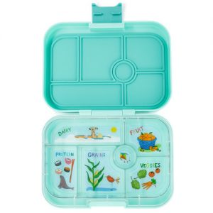 Yumbox original - surf green (6-vaks)